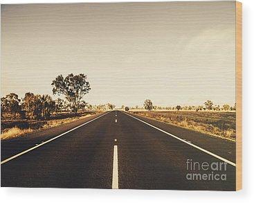 Straight Ahead Wood Prints