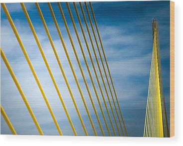 Sunshine Skyway Bridge Wood Prints