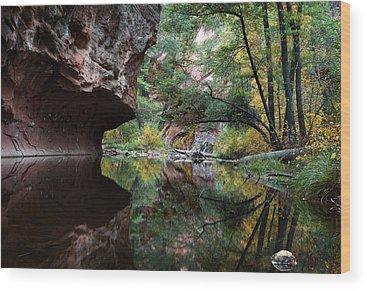 Oak Creek Canyon Wood Prints