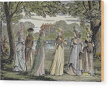 Jane Austen Wood Prints