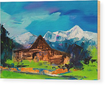 Grand Tetons Wood Prints