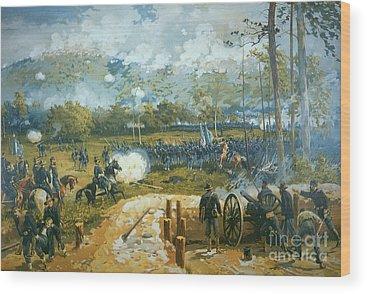 Artillery Wood Prints