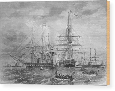Galleons Wood Prints