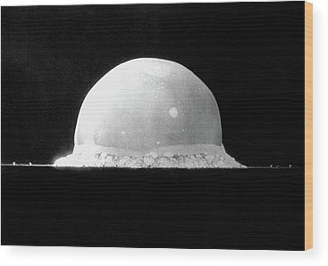 Nuclear Bomb Wood Prints