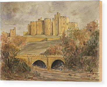 Castle Ruins Wood Prints