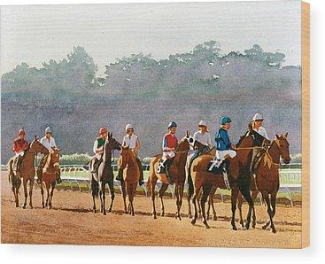 Stallion Wood Prints