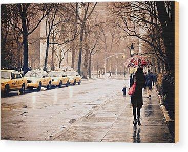 Greenwich Village Wood Prints