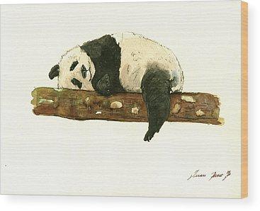Pandas Wood Prints