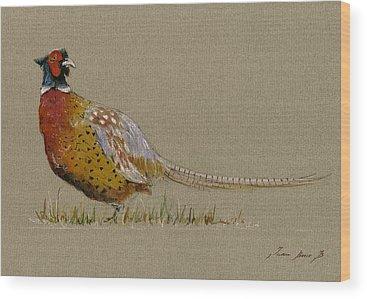 Pheasant Wood Prints