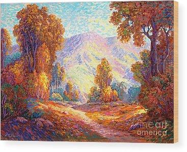 Vivid Colour Wood Prints