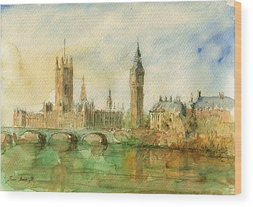 Parliament Wood Prints