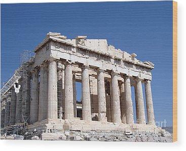 Acropolis Wood Prints