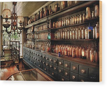 Medicine Bottle Wood Prints