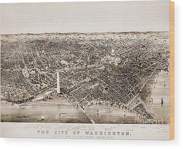 Washington Monument Wood Prints