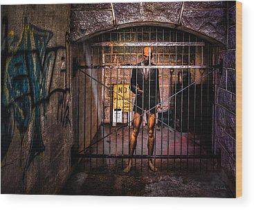 Prison Cell Wood Prints