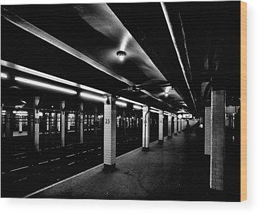 London Tube Wood Prints