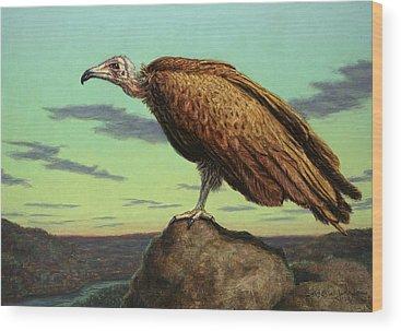 Vulture Wood Prints