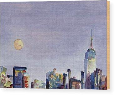 New York City Wood Prints