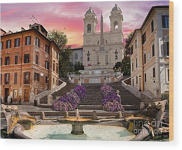 Rome Wood Prints