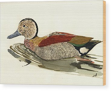 Duck Hunt Wood Prints