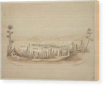 Rotorua Wood Prints