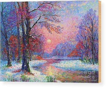 Canadian Landscape Wood Prints