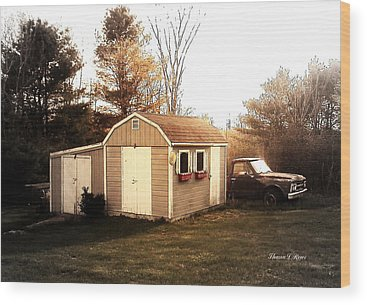 Toolshed Wood Prints