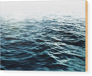 Waves Wood Prints