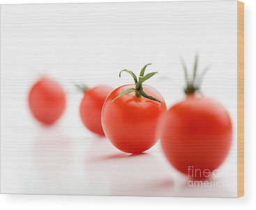 Cherry Tomato Wood Prints