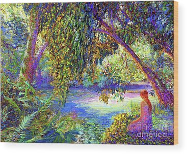 Weeping Willows Wood Prints