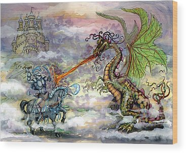Dragon Wood Prints