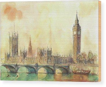Big Ben Wood Prints