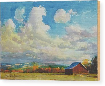 Country Life Wood Prints