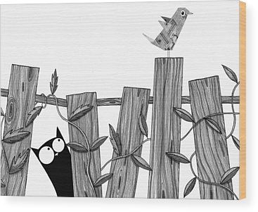 Wood Grain Wood Prints