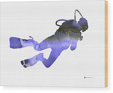 Scuba Diving Wood Prints