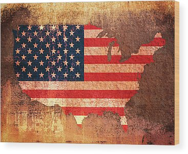 Usa Wood Prints