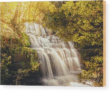 River Liffey Wood Prints