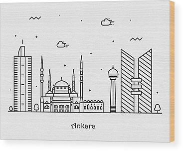 Turkiye Wood Prints