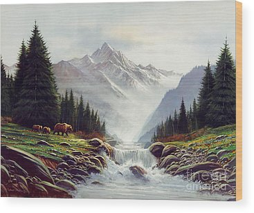 Kodiak Wood Prints