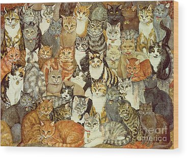 Cat Wood Prints