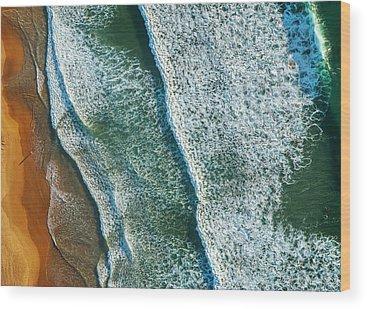 Abstract Sand Wood Prints