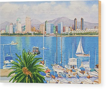 Yachts Wood Prints