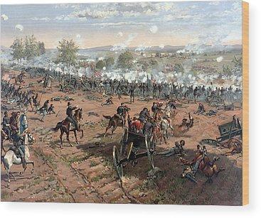 Civil War Wood Prints