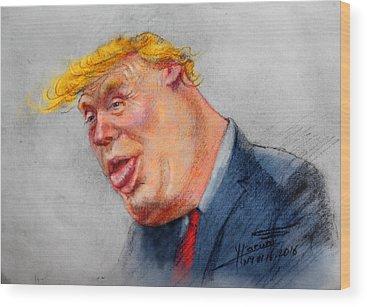 Donald Trump Wood Prints