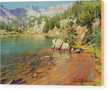Alpine Wood Prints