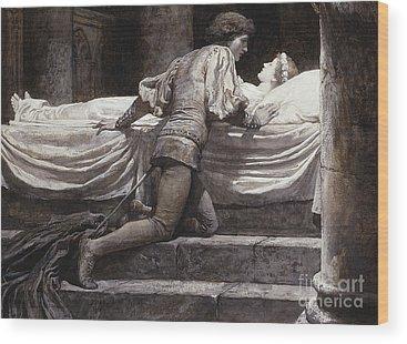 Romeo And Juliet Wood Prints