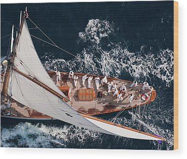 Yacht Wood Prints