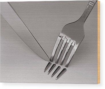 Cutlery Wood Prints