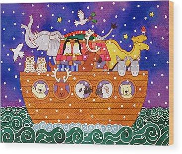 Noahs Ark Wood Prints