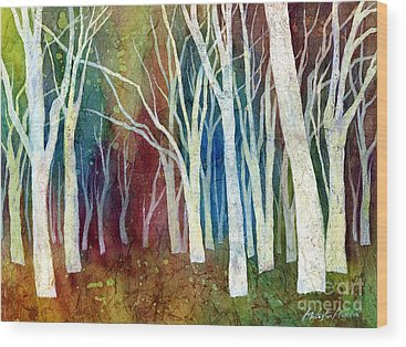 Autumn Abstract Wood Prints